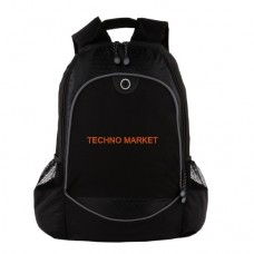 Techno Market Hive Compu-Backpack Bag (Black)