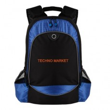 Techno Market Hive Compu-Backpack Bag (Blue)