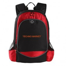 Techno Market Hive Compu-Backpack Bag (Red)