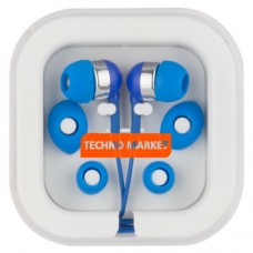 Techno Market Color Pop Earbuds (Blue)