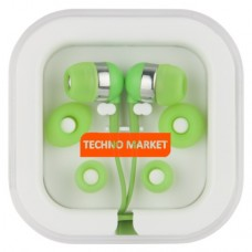 Techno Market Color Pop Earbuds (Lime Green)
