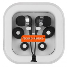 Techno Market Color Pop Earbuds (Black)