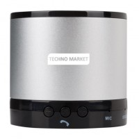 Techno Market Greedo Bluetooth Speaker (Silver)