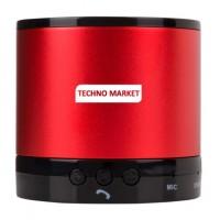 Techno Market Greedo Bluetooth Speaker (Red)